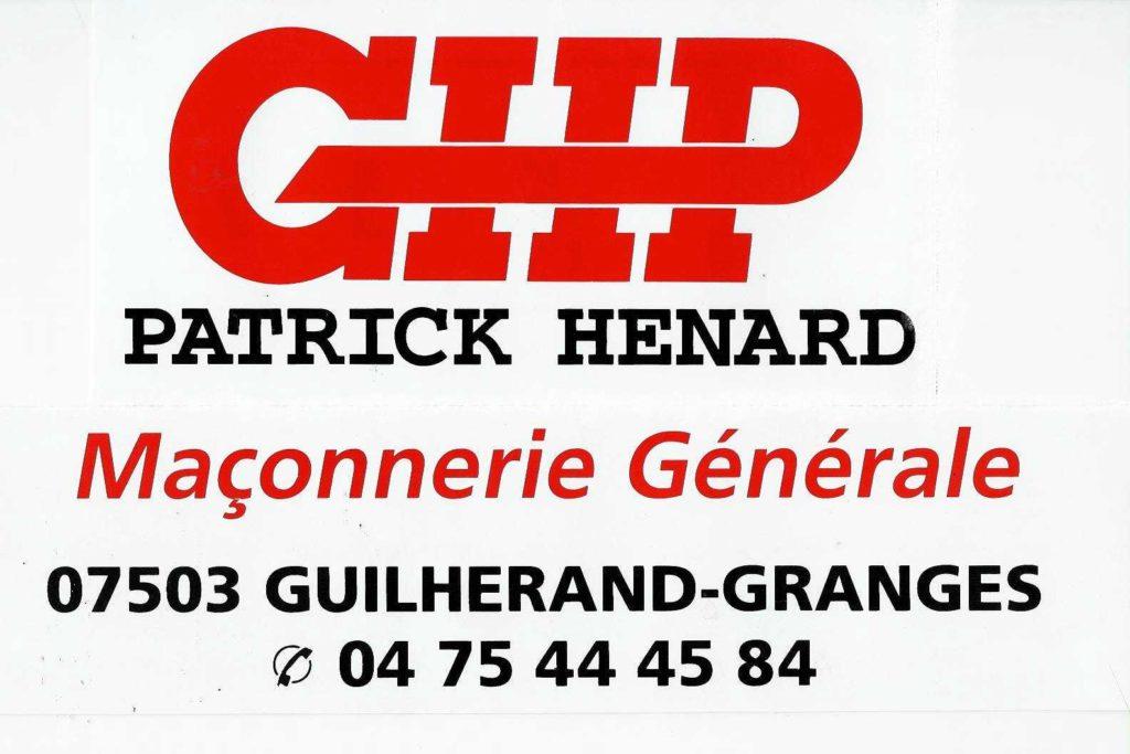 GHP Maçonnerie HENARD