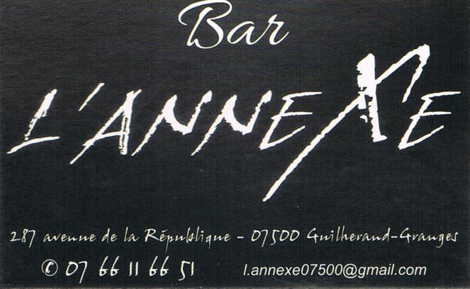 Bar L'Annexe Guilherand-Granges
