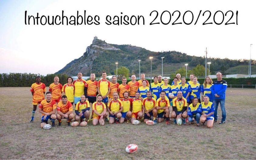 Les intouchables loisir rugby bassin de crussol